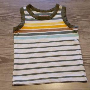 $2 w/ bundle! Cat & Jack Baby Boys Striped Tank